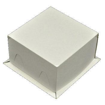 Коробка для торта  21х21х10 cм