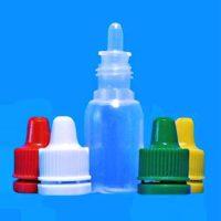 Флакон пластик, матовый, 10 мл