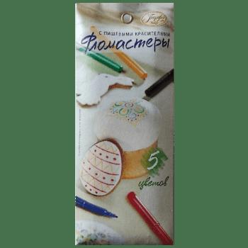 Фломастеры с пищевыми красителями