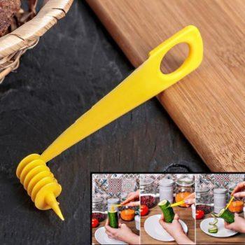 Нож для нарезки спиралью