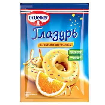 Глазурь для выпечки Dr.Oetker, со вкусом цитрусовых