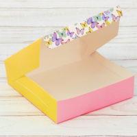 "Коробка складная ""Бабочки"""