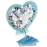 Сердце со свитками «Для тебя», на подставке