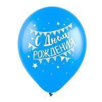 """Набор шаров """"С Днем рождения!"""" вечеринка, пастель, 12"""""""