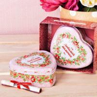 """Подарочный набор """"Любимой мамочке"""", шкатулка и открытка"""