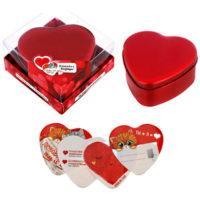 """Подарочный набор """"Любовь - это ты и я"""", шкатулка с наклейками"""