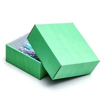 Коробка сборная, мятная