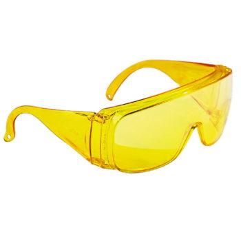 Очки защитные открытого типа, желтые