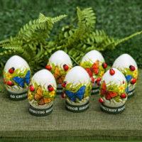 """Пасхальный набор для украшения яиц """"Бабочки и божьи коровки"""""""