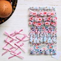 """Пасхальный набор для украшения яиц """"Цветы и бантики"""""""