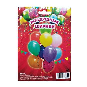 Набор воздушных шариков Перламутр, 10 шт.