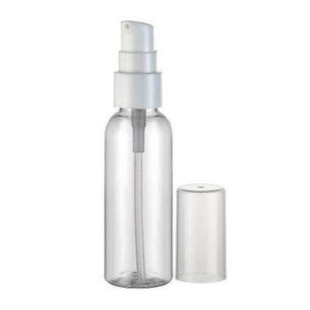 Флакон ПЭТ, прозрачный с дозатором для крема, 200 мл