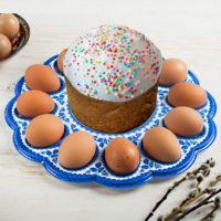 """Подставка для пасхальных яиц """"Христос Воскресе!"""""""
