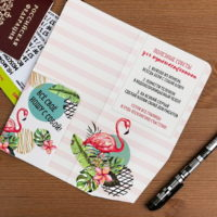 """Туристический конверт """"Мечтай, люби и путешествуй!"""""""