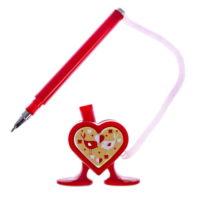 """Ручка на подставке """"Пиши с любовью"""""""