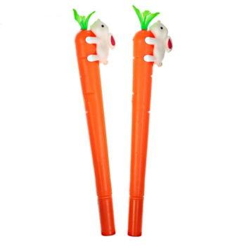 """Ручка-прикол «Морковка с зайкой"""""""