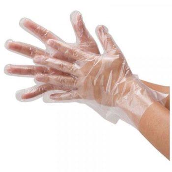Перчатки полиэтиленовые одноразовые, 50 пар, размер M
